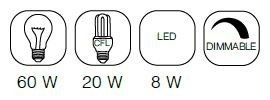 big glow - ZUIVER Big Glow laelamp - 3 värvi