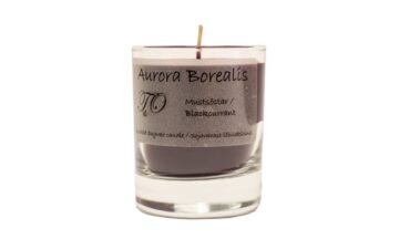 mustsõstar 360x216 - Свеча из соевого воска Aurora Borealis - Чёрная смородина