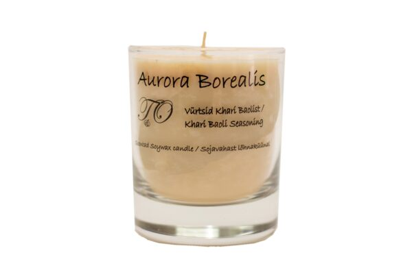 vürtsid khali barist 600x407 - Sojavaha küünal Aurora Borealis - Vürtsid Khara Baolist