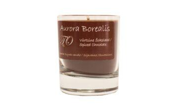 vürtsine šokolaad 360x216 - Sojavaha küünal Aurora Borealis - Vürtsikas šokolaad