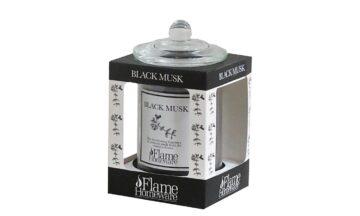 45384 360x216 - Lõhnaküünal Flame - Black Musk