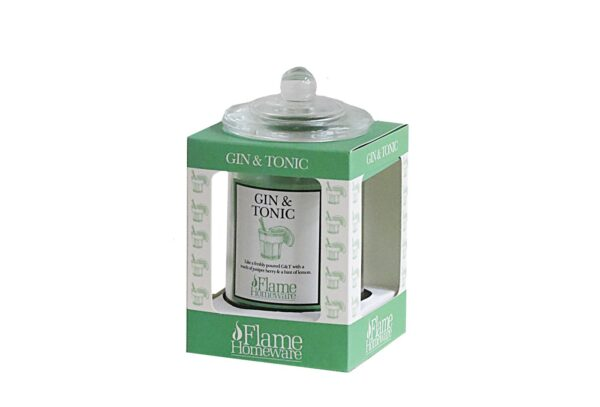 45393 600x407 - Lõhnaküünal Flame - Gin & Tonic