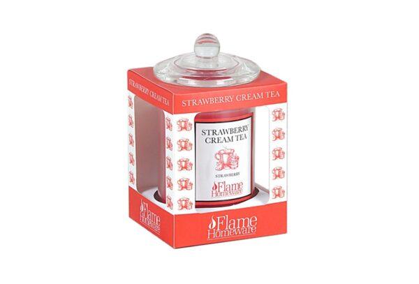 48976 600x407 - Lõhnaküünal Flame - Strawberry Cream Tea