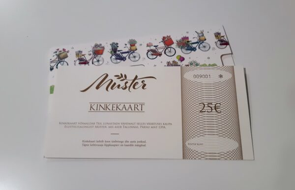 kinkekaart 25 600x386 - Подарочная карта