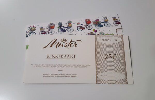 kinkekaart 25 600x386 - Kinkekaart