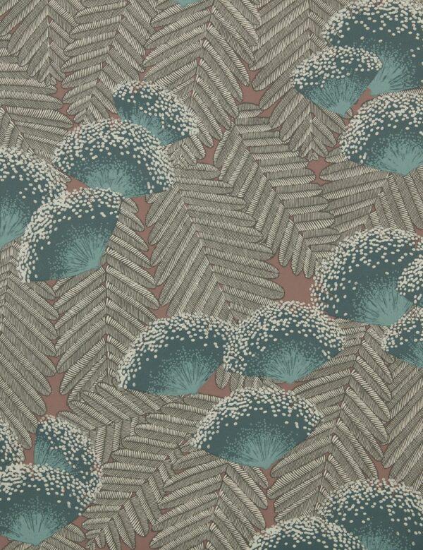 1907 138 04 Clarice Cantaloupe Swatch 600x779 - 1838 Wallcoverings флисовые обои 1907-138-04