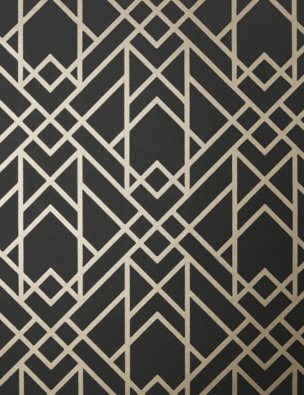 1907 140 03 Metro Jet Swatch 600x779 - 1838 Wallcoverings fliistapeet 1907-140-03