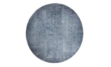 LINEN DARK BLUE round 360x216 - Ковёр FARGOTEX Linen dark blue, круглый d200 cm