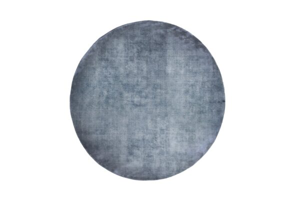 LINEN DARK BLUE round 600x407 - FARGOTEX Linen dark blue, ümar - 2 suurust