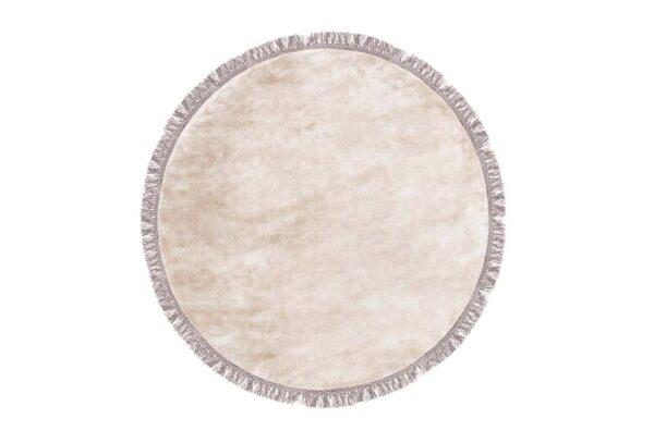 Luna beige round1 600x407 - FARGOTEX Luna vaip beige, ümar - 2 suurust