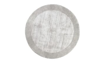 TERE LIGHT GRAY round 360x216 - FARGOTEX Tere vaip light gray, ümar - 2 suurust