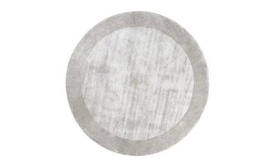 TERE LIGHT GRAY round 400x240 - FARGOTEX Tere vaip light gray, ümar - 2 suurust