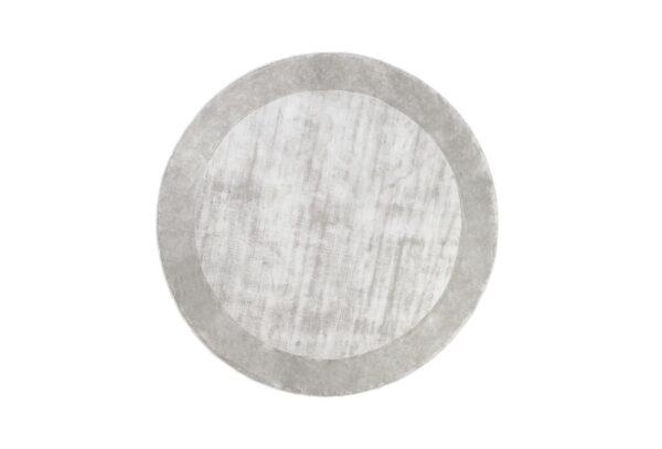 TERE LIGHT GRAY round 600x407 - FARGOTEX Tere vaip light gray, ümar - 2 suurust