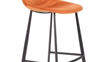1500068 0 360x216 - DUTCHBONE Franky бархатный барный стул, низкий, оранжевый
