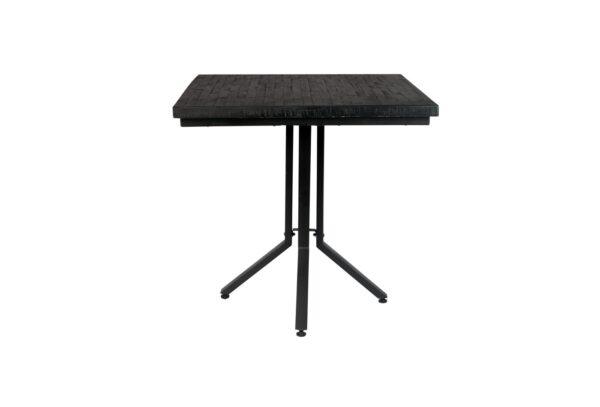 2100086 0 600x407 - ZUIVER Maze стол квадратный, чёрный