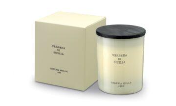 5542 1 360x216 - Парфюмированная свеча Cereria Molla- Verbena di Sicilia