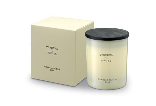 5542 1 600x407 - Lõhnaküünal Cereria Molla- Verbena di Sicilia