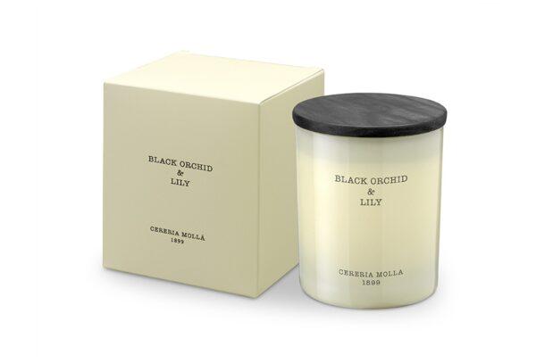 5543 1 600x407 - Lõhnaküünal Cereria Molla- Black Orchid & Lily