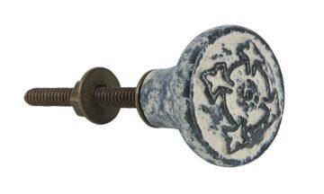 0510 00 1 360x216 - Kapinupp keraamiline antiik  viimistlus must/valge mustriga