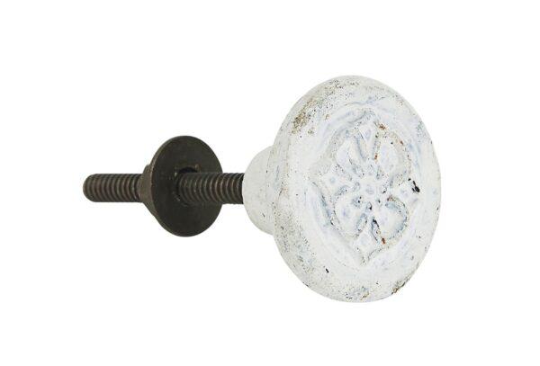 0551 11 1 600x407 - Kapinupp valge kulutatud , valatud metall
