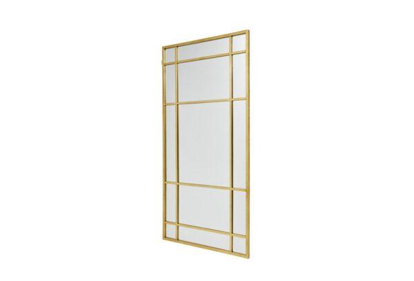 15736 600x407 - Seinapeegel kuldse aknaruudu raamiga