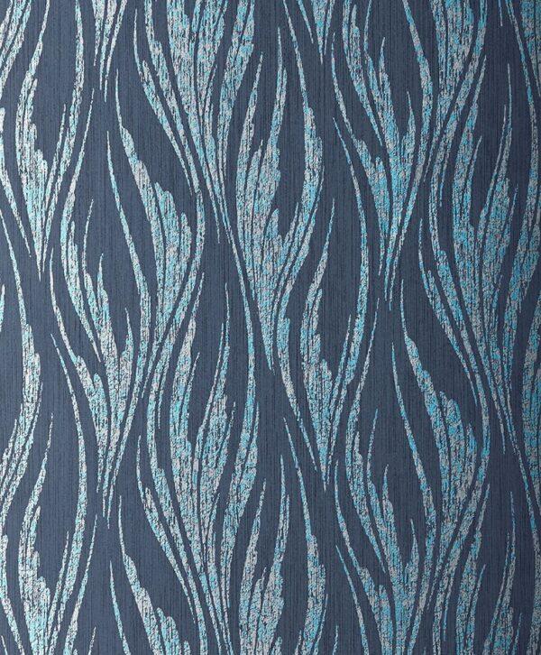 2008 146 03 Ripple Blue Dusk Swatch 600x726 - 1838 Wallcoverings fliistapeet 2008-146-03