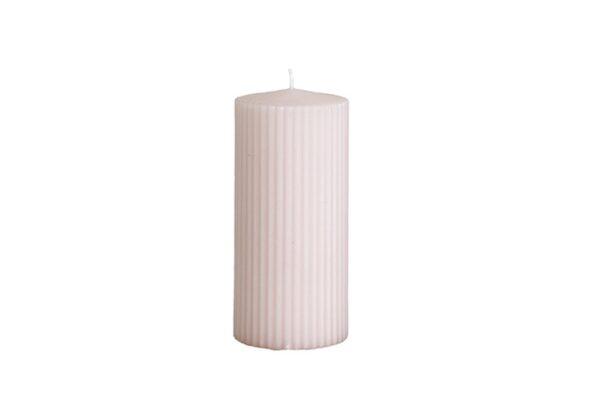 210 150 70 600x407 - Свеча нежно розовая