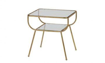 800772 B 1 360x216 - Приставной столик цвета античной латуни