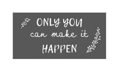 "8037 00 1 400x240 - Silt-magnet ""Only you can make it happen"""