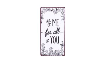 em5745 p 360x216 - Табличка-магнит, All of me for all of you