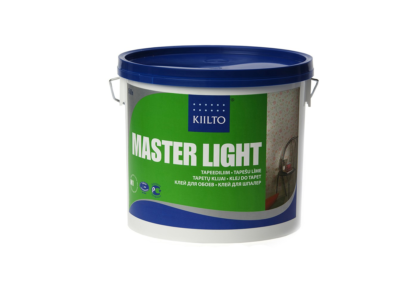 kiilto master light 1 - *Kiilto Master Light pabertapeediliim, 5L