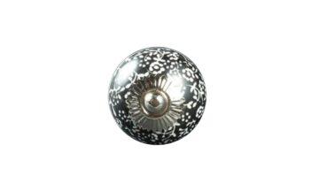 kn601 360x216 - Ручка для ящика керамическая, чёрная