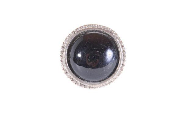 kn770 p 600x407 - Kapinupp metallist, must