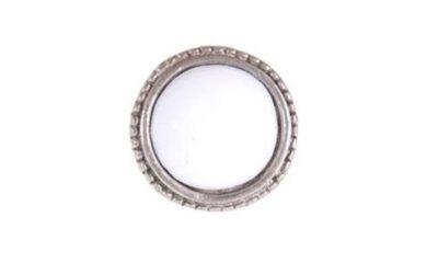 kn773 p 400x240 - Kapinupp metallist, valge