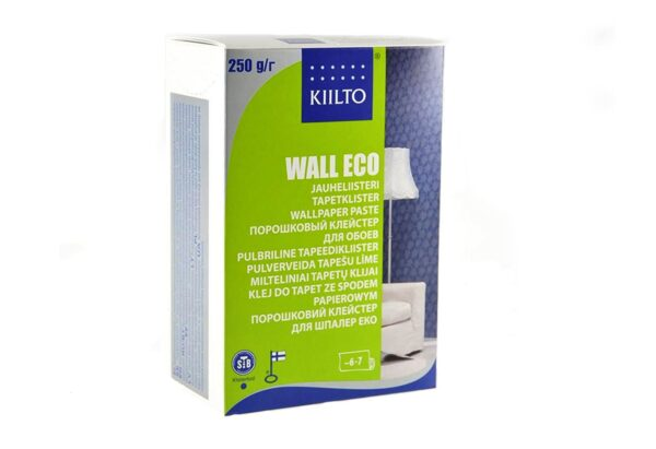 pulberliim2 3 600x411 - Kiilto Wall Eco pulbertapeediliim, 250g
