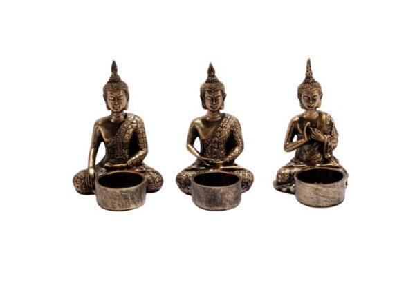 859110 600x407 - Подсвечник в виде Будды