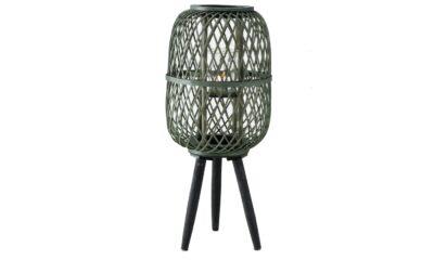 1021838 400x240 - Latern roheline bambus, jalgadel H60cm
