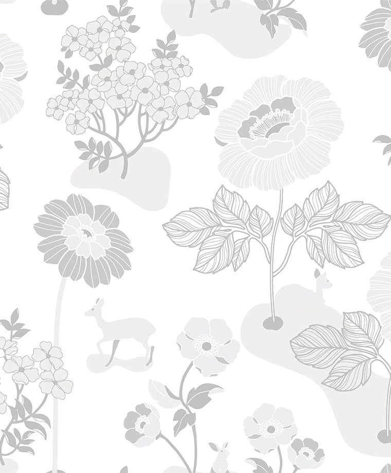 398 01 Blomsterang 1 - Duro fliistapeet 398-01