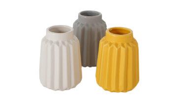 10210208 360x216 - Lillepotid 3 eri värvi (valge, hall, kollane)