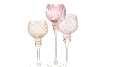 7057600 360x216 - Küünlajalg klaasist 3 erinevat suurust ja värvi