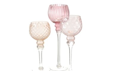 7057600 400x240 - Küünlajalg klaasist 3 erinevat suurust ja värvi