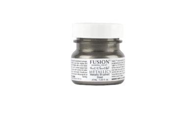 fusion mineral paint metallic brushedsteel 37ml Copy 400x240 - Fusion metallikvärv Brushed Steel, 37ml